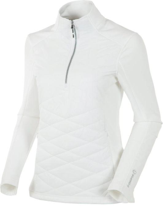 SUN ICE WOMEN'S DAISEY HYBRID THERMAL STRETCH HALF-ZIP LILY PULLOVER