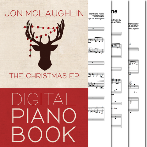 The Christmas EP - Digital Piano Book