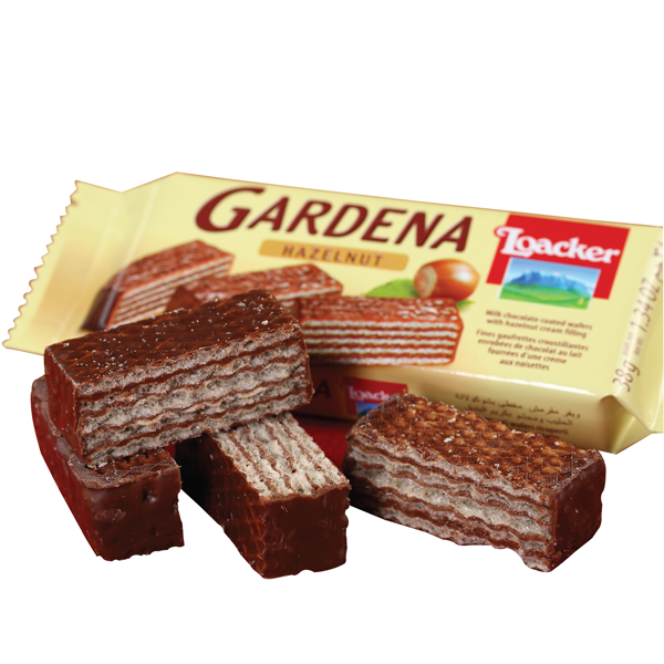 Gardena chocolate coated wafers