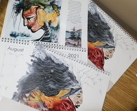 The Art of Gray 2021 Calendar