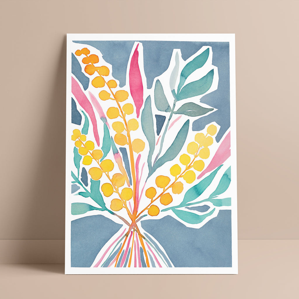 'Gather Together' — Australian Native Flowers Wall Art