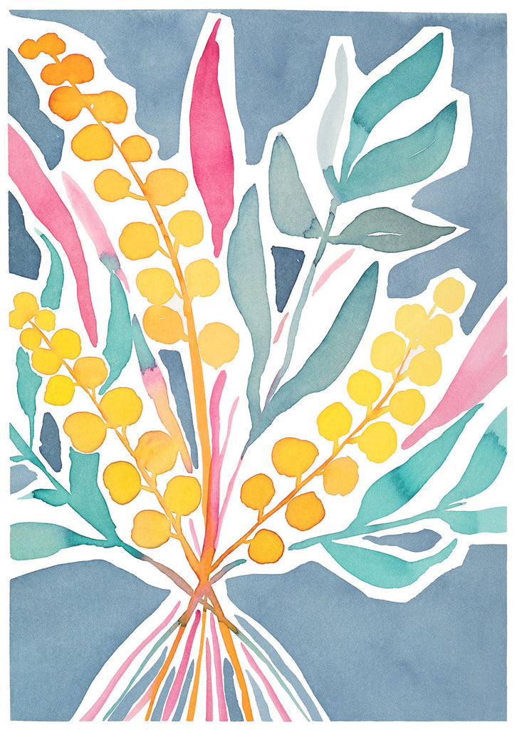 'Gather Together' — Botanical greeting card