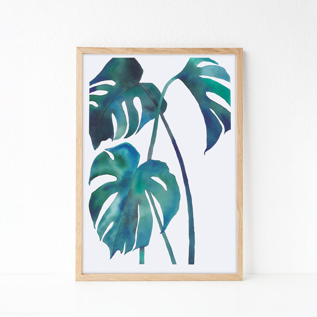 Monstera — Printable wall art, digital download