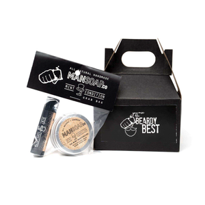 The Beardy Best Box by MANSOAP.CO