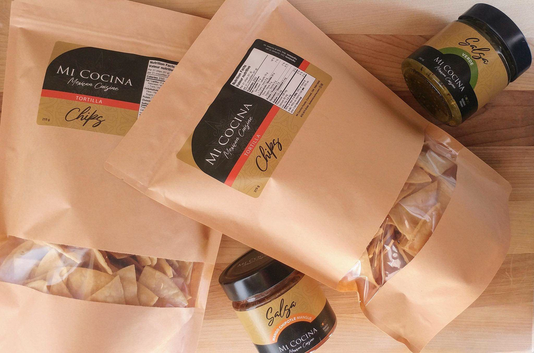 Tortilla Chips and Salsas by MI COCINA MEXICAN CUISINE