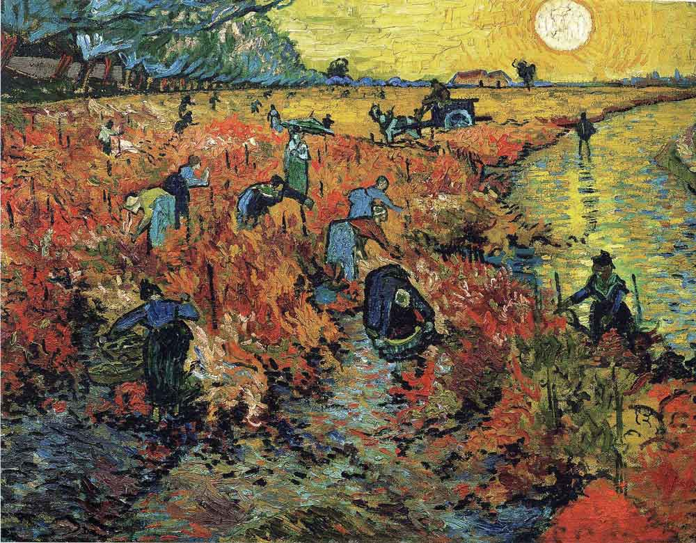 nole creative van gogh red vineyards