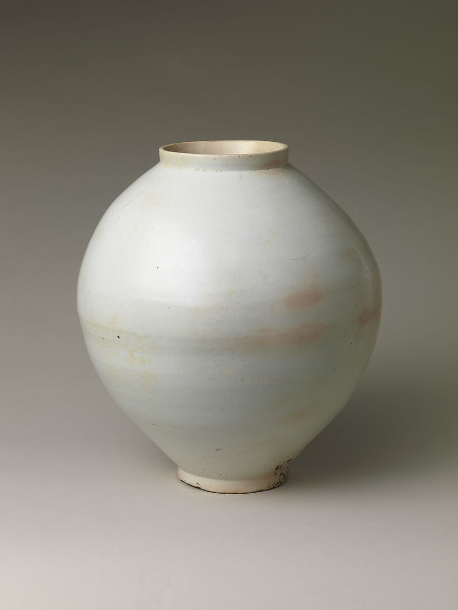 wabi sabi the art of imperfection moon jar 달항아리 Met Metropolitan museum of art