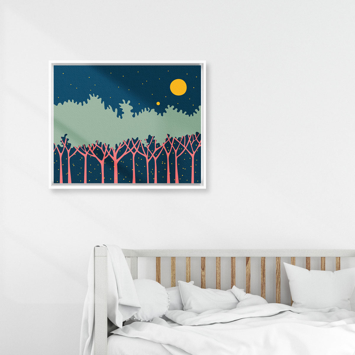 stargazing nole creative framed canvas art