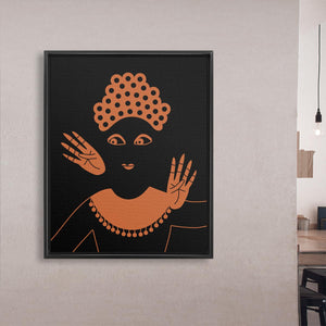 Balinese Dancer nole creative framed canvas art