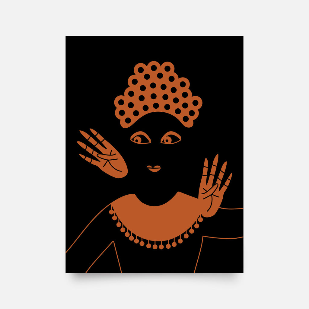 """Balinese Dancer"" giclee art print - Nole Creative"