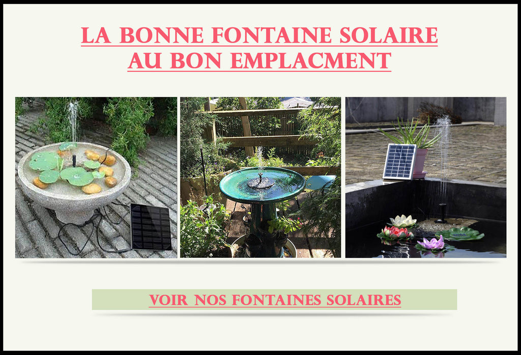 Fontaine-Solaire-Installer