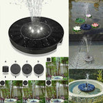 Fontaine solaire Lumineuse (2,4W) | Décorations Jardins