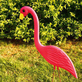 Flamant-Rose-Décoratif-Plat