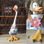 Animal-Decoratif-Jardin-Maman-Canard-Comique