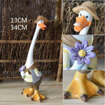 Animal-Decoratif-Jardin-Papa-Canard-Comique