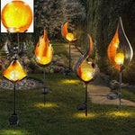 Lampe-Solaire-Flamme-Lampe-Led