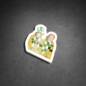 The Weasley Twins Sticker