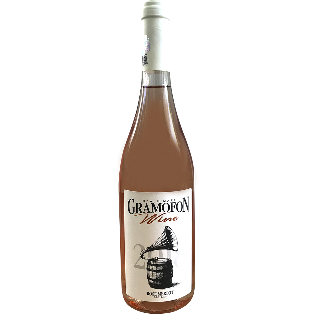 ROSE MERLOT GRAMOFON WINE 750ML