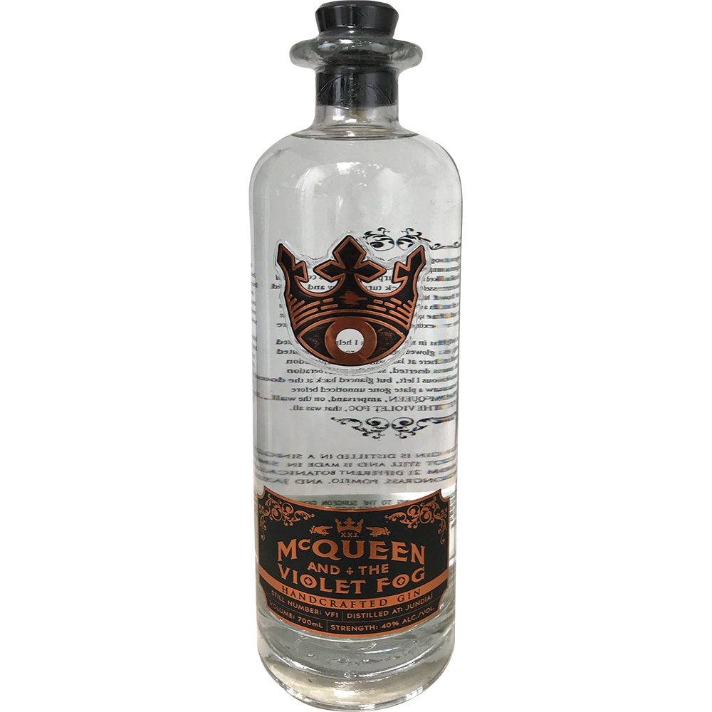 MC QUEEN AND THE VIOLET FOG GIN