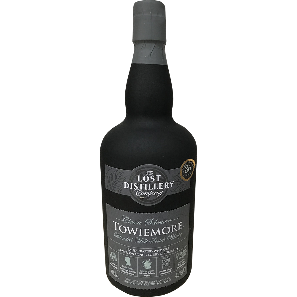 THE LOST DISTILLERY SCOTCH WHISKY TOWIEMORE