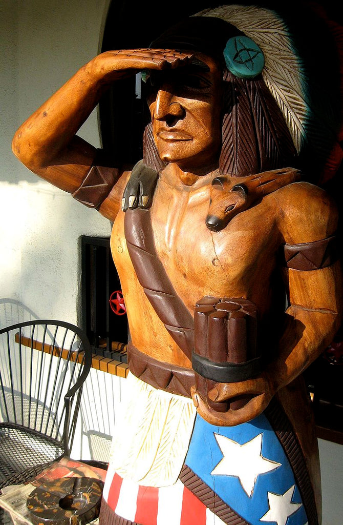 Cigar Store Indian Representation and History