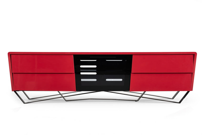 Fallow Modern Red TV Stand