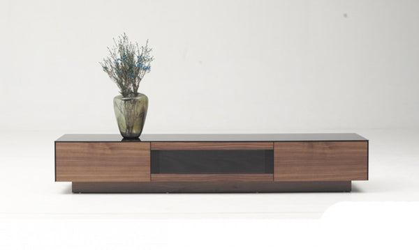 Modrest Doris Modern Walnut TV Stand