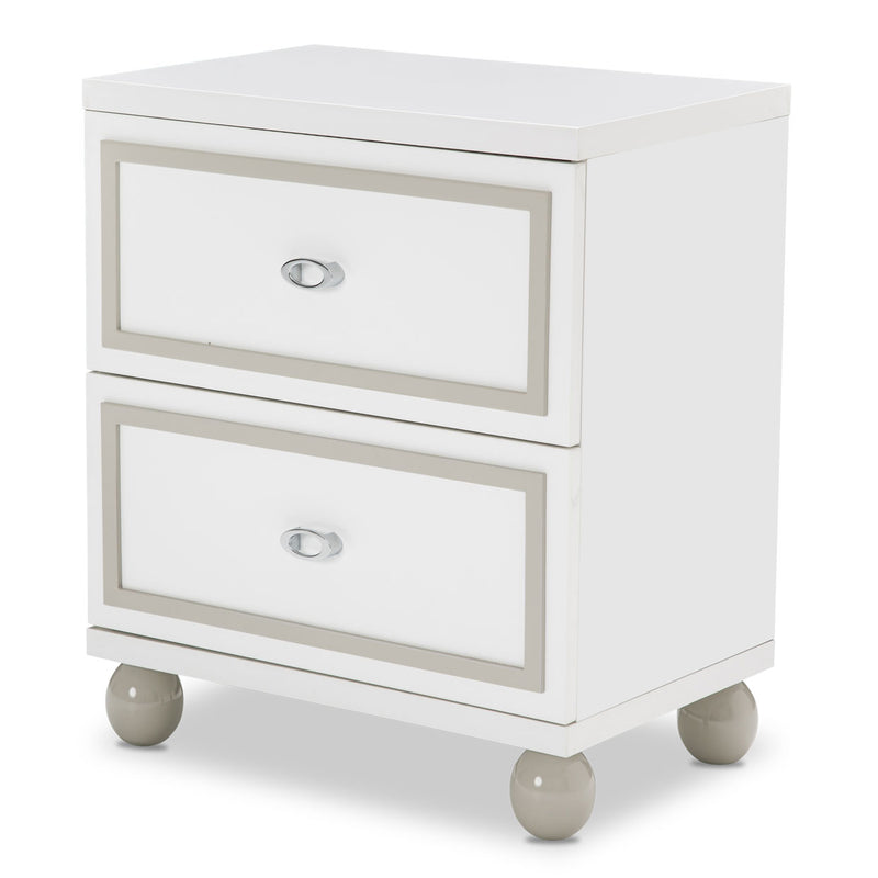 SKY TOWER NIGHTSTAND TWO DRAWER