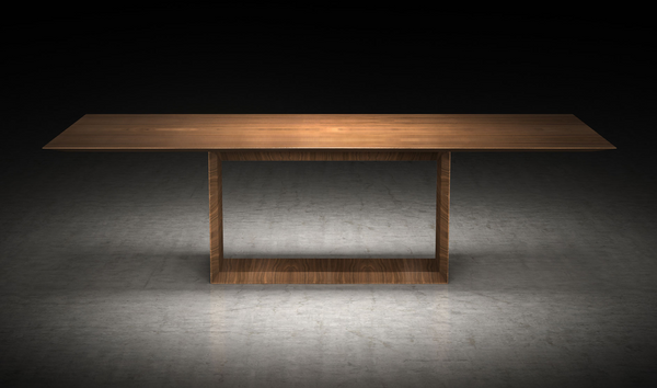 Fibonacci Modern Furniture Greenwich 106in. Dining Table
