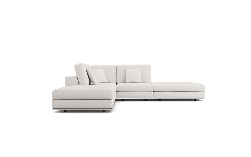 Perry Modular Armless Corner Sofa