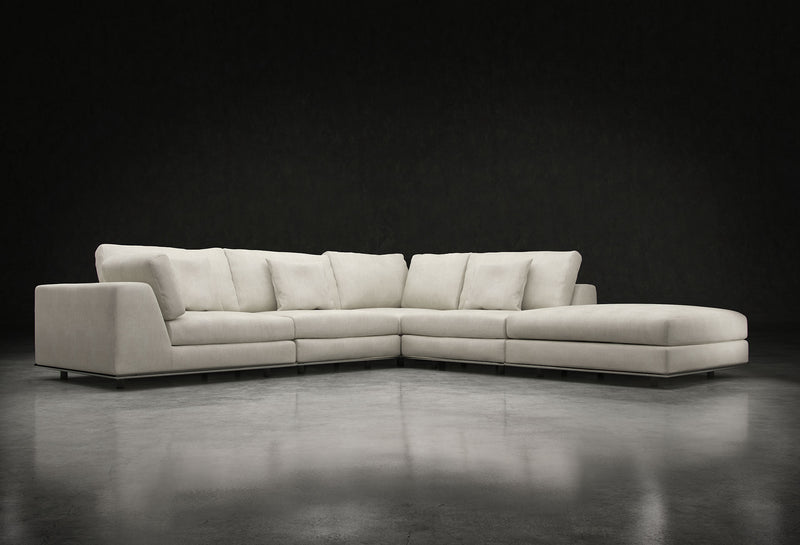 Perry Sectional 1 Arm Corner Open Sofa