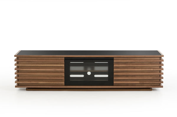 Flamingo Contemporary Walnut TV Stand