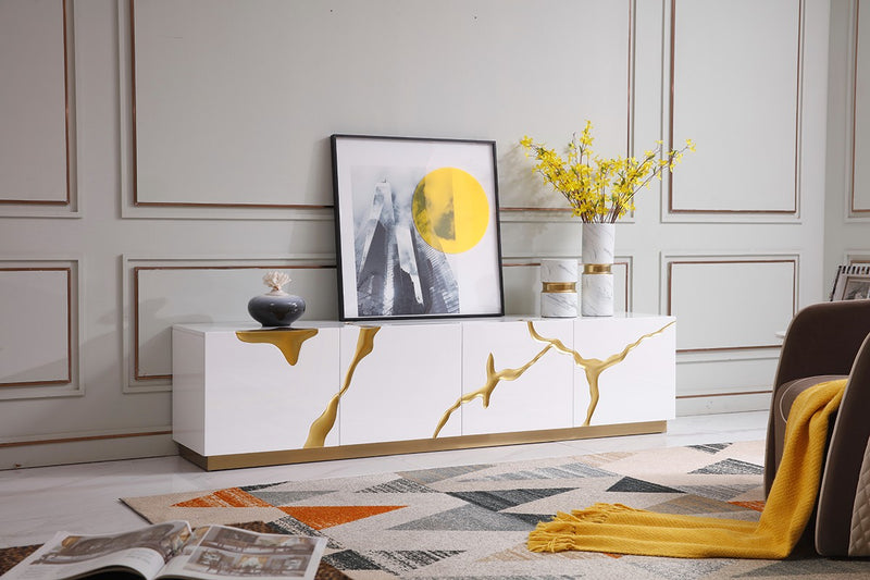 Kelly modern TV stand
