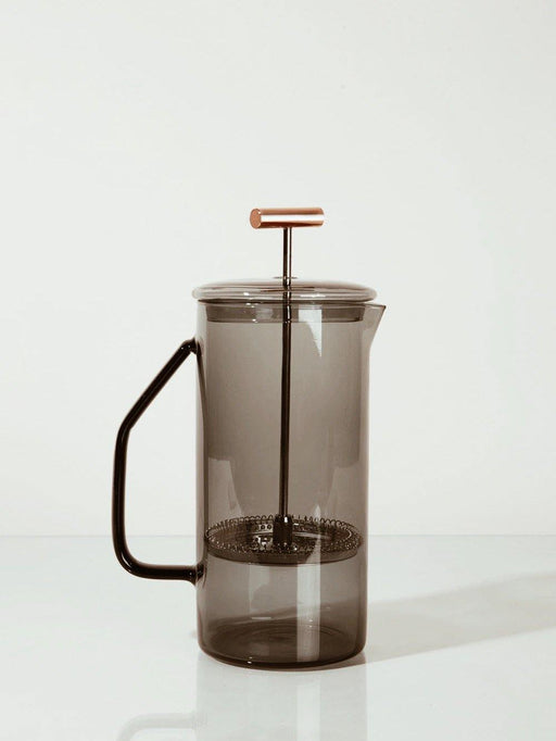YIELD - Gray Glass French Press - RELYT