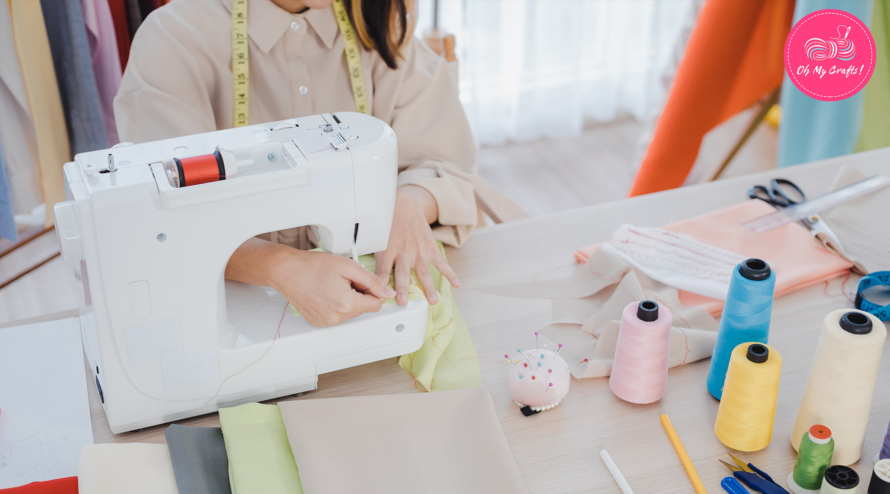 WHAT BEGINNERS SHOULD KNOW ABOUT SEWING MACHINES