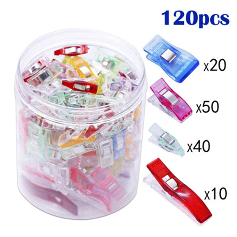 120 Pcs Sewing Clips - Sewing - Oh My Crafts