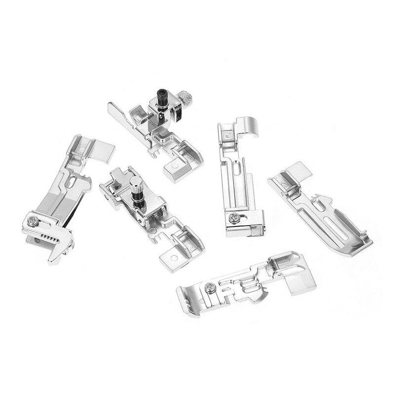 6 Pieces Overlock Presser Foot - Brother, Singer, Juki And More - Sewing Accessories - Oh My Crafts