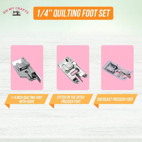 Beginner Quilting Foot Set