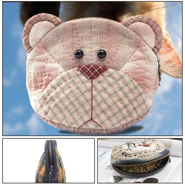 DIY Bear Mini Purse Kit 611771 / 17*10.5cm - - Alibaba