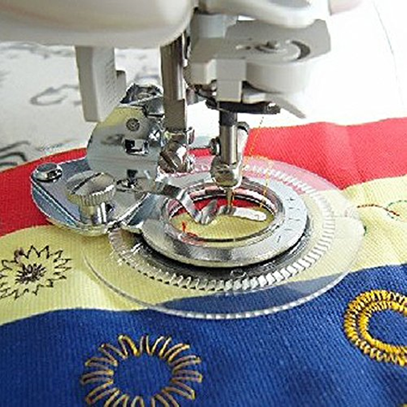 Flower Stitch Foot - Sewing - Oh My Crafts