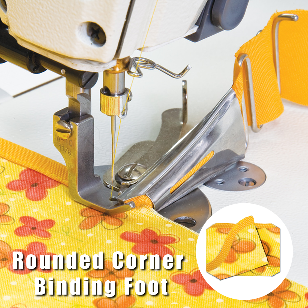 Rounded Corner Binding Foot - Sewing Machines - Oh My Crafts