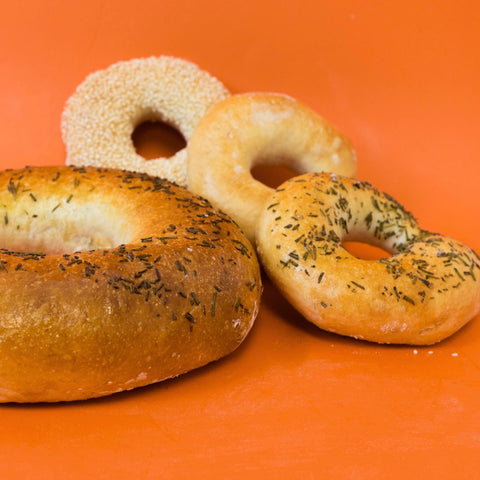 Rosemary Sea Salt Family-Style Bagel