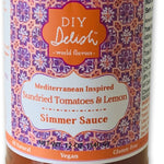 Sundried Tomatoes & Lemon Simmer Sauce from woman-owned DIY Delish