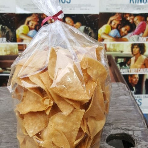 1 Bag of Gluten-Free Tortilla Chips from Tortilleria La Esmeralda in Greeley, CO.