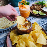 Senor Bear Family-style Queso, Salsa, and Chips Meal Kit