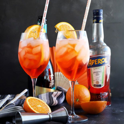 Aperol Spritz Kit from Bar Dough available at Farmer's Market & Curbside Pick-up in Denver. Restaurant meal kits also available.