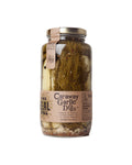 Handcrafted, small batch pickles from the Real Dill - Caraway Garlic Dill flavor