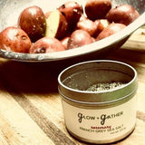 Small Batch & Handcrafted Infused Sea Salts from Grow & Gather - Rosemary Flavor
