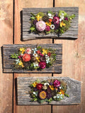 Dried Flower & Succulent Decor