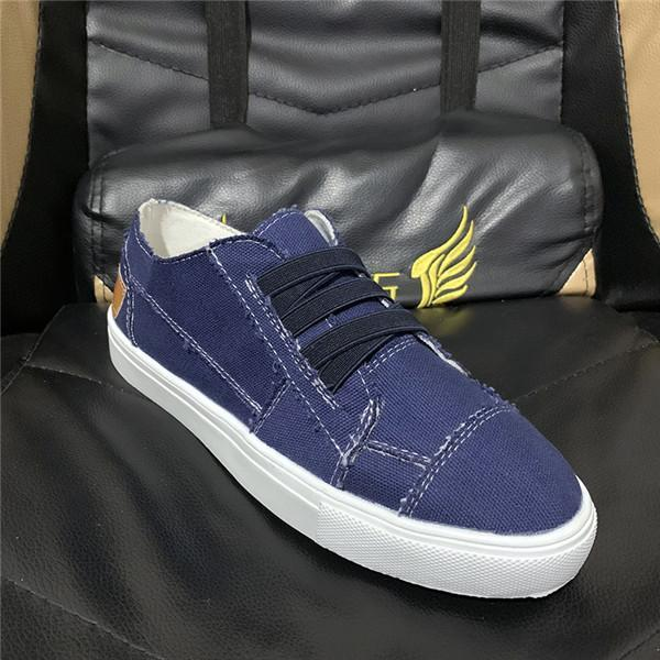 Suremoda Casual Cross Elastic Band Canvas Sneakers